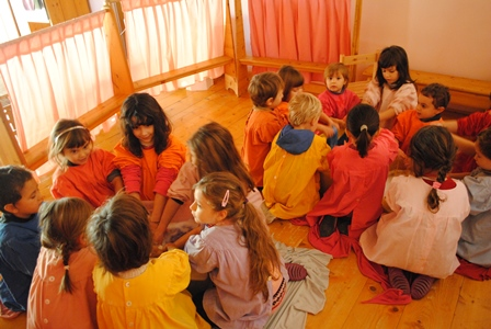 Casa d'oro giardino d'infanzia